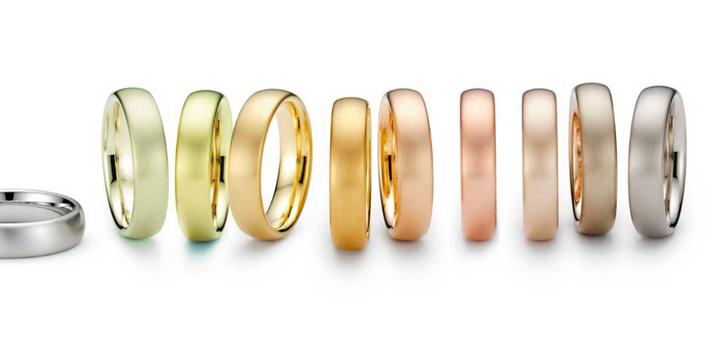 چند رنگ طلا وجود دارد؟